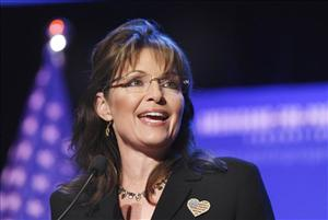 A May 1 file photo of Sarah Palin.
