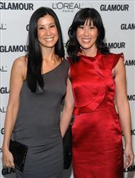 Journalists Lisa Ling, left, and her sister Laura Ling attend the Glamour Magazine 2009 Women of the Year Awards at Carnegie Hall on Monday, Nov. 9, 2009 in New York.