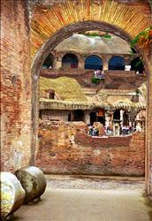 Rome - Roman Coliseum Arch