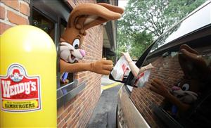 There was no Nesquik Bunny, or anything warm and fuzzy for that matter, at the Kalamazoo Wendy's drive-thru yesterday.