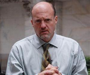 Jim Cramer, host of CNBC Networks' Mad Money show is seen during an interview in front of the New York Stock Exchange, Wednesday, Oct. 3, 2007 in New York.