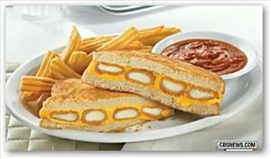 Denny's Fried Cheese Melt sure looks yummy, doesn't it?