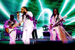 Earth, Wind & Fire performs at the 2010 Essence Music Festival at the Louisiana Superdome in New Orleans, on Sunday, July 4, 2010