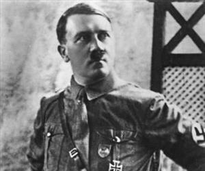 Adolf Hitler is seen in this 1925 file photo.