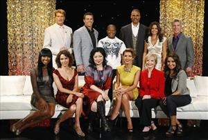 In this photo provided by ABC, the new lineup of stars pose for a photo in Hollywood, Calif., Monday, Aug. 31, 2010.