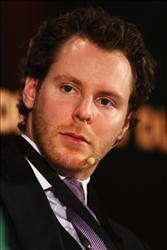 Sean Parker attends the Digital Life Design (DLD) conference on January 25, 2009 in Munich, Germany.