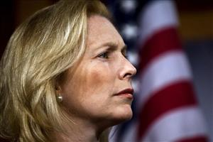 In this July 14, 2010 file photo, Sen. Kirsten Gillibrand, D-NY, or Senator Hottie, as Harry Reid might like to call her.