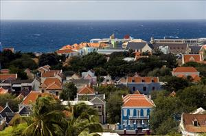 Willemstad, capital of the now-autonomous island of Curacao.