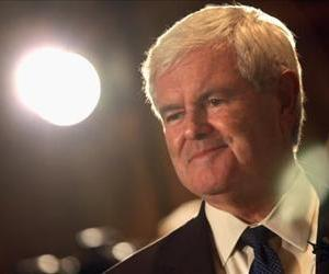 Newt Gingrich holds a press conference on September 30, 2010 in Denver, Colorado.