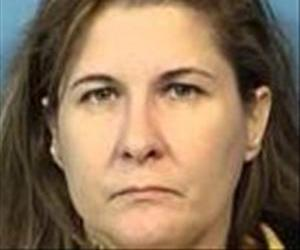 Marci Webber is seen in this mugshot.