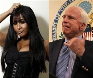 Snooki and John McCain have quite the mutual admiration society going on.