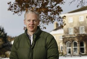 Julian Assange in Bungay, England, Friday, Dec. 17, 2010.