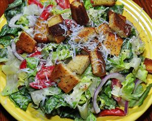 Salad good, croutons ... bad?