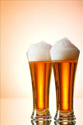 A bit of beer can be healthy, a study suggests.