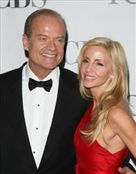In this June 13, 2010 file photo, Kelsey Grammer and his wife Camille Grammer arrive at the 61st Annual Tony Awards in New York.