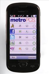 This product image provided by MetroPCS Communications shows the Samsung Craft, the first US phone to use the next-generation LTE wireless technology.