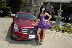 Jayde Nicole attends the 2008 Playmate Of The Year presentation at the Playboy Mansion on May 8, 2008, in Beverly Hills, California.