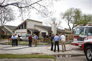 Emergency personnel respond to the Houston day care fire.
