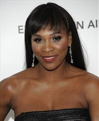 Tennis player Serena Williams arrives at the 2011 Elton John Academy Award viewing party in West Hollywood, Calif. on Sunday, Feb. 27, 2011.