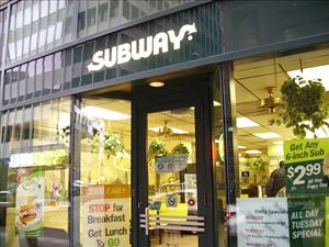Sorry McDonald's, but Subway has you beat in one area.