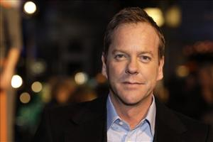 Kiefer Sutherland arrives at the UK premiere of Monsters vs  Aliens.