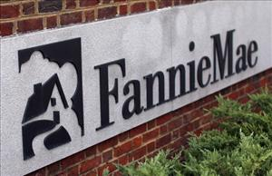 The headquarters of Fannie Mae are seen October 21, 2010 in Washington, DC.
