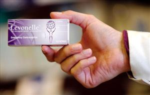 File photo: Pharmacists in Wales will be able to give the morning-after pill to girls as young as 13. It's commonly sold in the UK as Levonelle.