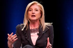 Arianna Huffington: apparently busy cutting costs.