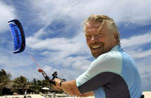 I was really trying to come up with a radical idea to save them, Branson says.