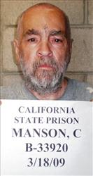In March 18, 2009 handout photo is cult killer Charles Manson.