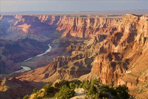 Geologists gain an insight into the canyon's formation.