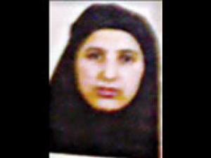 Osama bin Laden's last wife.