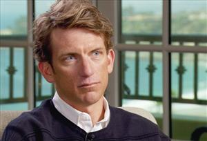 "Cyclist and former Lance Armstrong teammate Tyler Hamilton speaks to ""60 Minutes"" correspondent Scott Pelley in Dana Point, Calif."