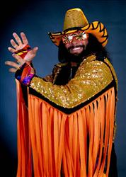 Randy Macho Man Savage in an undated image.