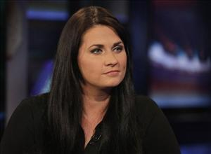 Meagan Broussard, one of the six women with whom Anthony Weiner admitted to exchanging inappropriate messages, is interviewed on the Hannity program on the Fox News Network.