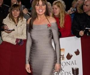 Winner Carol Vorderman: You will have to imagine the rear view.