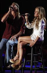 Kid Rock and Sheryl Crow and perform at the 2011 CMT Music Awards in Nashville, Tenn. on Wednesday, June 8, 2011.
