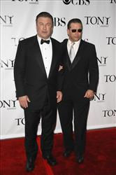 Actors Alec Baldwin, left, and Stephen Baldwin arrive at the 62nd Annual Tony Awards in New York, Sunday, June 15, 2008.