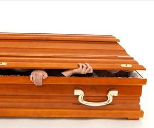 Coffins are bad places to wake up.