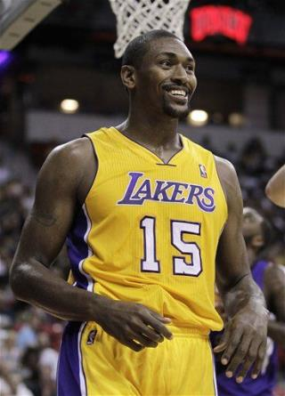 ... change his name to Metta World Peace. (AP Photo/Julie Jacobson, File