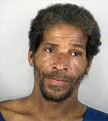 Melvin Jackson's booking photo.