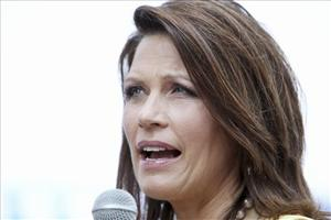 Republican presidential candidate, Rep. Michele Bachmann, R-Minn. speaks in Charleston, SC, Wednesday, June 29, 2011.