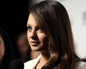 Actress Mila Kunis attends Cosmopolitan Magazine's Fun Fearless Males of 2011 event on Monday, Mar. 7, 2011 in New York.