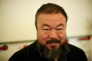 A 2009 file photo of Chinese artist Ai Weiwei.
