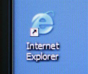 The logo shortcuts for IE and Chrome.