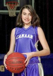 This 2010 photo shows Celina Cass of West Stewartstown, NH, in a basketball team uniform. Cass was last seen at her home the night of Monday, July 25, 2011.