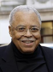 In this March 2010  photo,  James Earl Jones arrives outside the Haymarket Hotel in central London for the 34th Laurence Olivier Awards Nominees lunch.