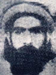 This undated photo reportedly shows the Taliban supreme leader Mullah Omar.