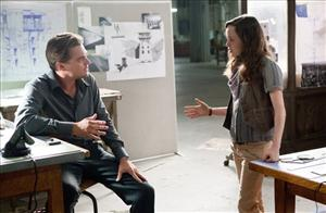 In this film publicity image released by Warner Bros., Ellen Page and Leonardo DiCaprio are shown in a scene from Inception.