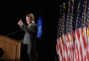Rick Perry speaks during the RedState Gathering in Charleston, S.C., Saturday.